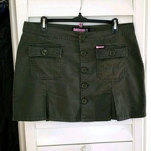 Vintage 90's Bubblegum Low Rise Mini Skirt Size 9